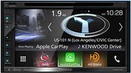 Kenwood 2-DIN Navigation DVD/CD AM/FM Touch Screen Bluetooth Car HD Radio