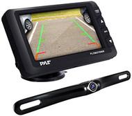 Pyle Upgraded Wireless Backup Camera & Monitor - IP67 Waterproof & Fog Resistant