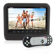 "Pyle PLD94BK Universal Car Headrest Mount Monitor - 9"" Vehicle DVD Player"