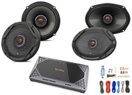 "2x JBL 6.5"" 2-Way GX Series Speakers, 2x JBL 6x9"" Speakers, Amplifier + Kit"