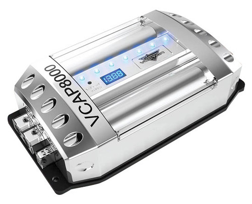 Lanzar VCAP8000 Vector 80 Farad 16 Volt  Hybrid Capacitor