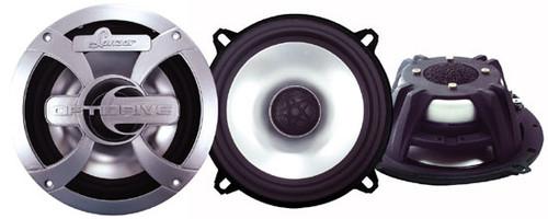 Pair Lanzar OPTI52 Optidrive 5.25'' 300 Watt Two-Way Coaxial Speakers