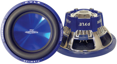 1 x  Pyle PLBW1 x 04 1 x 0'' 1 x 000 Watt DVC Subwoofer Sub Car Audio