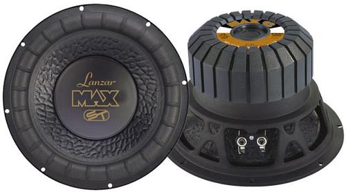 1 x  Lanzar MAX1 x 2 Max 1 x 2'' 1 x 000 Watt Small Enclosure 4 Ohm Subwoofer Sub