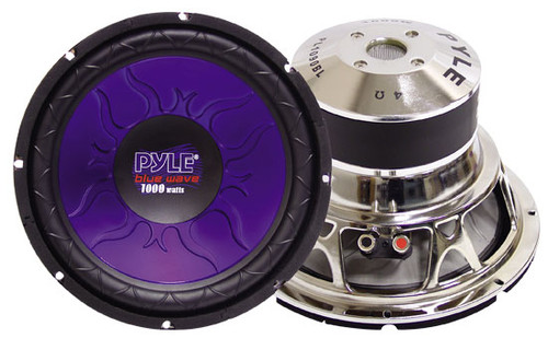 1 x  Pyle PL1 x 590BL 1 x 5'' 1 x 400 Watt DVC Subwoofer Sub Car Audio