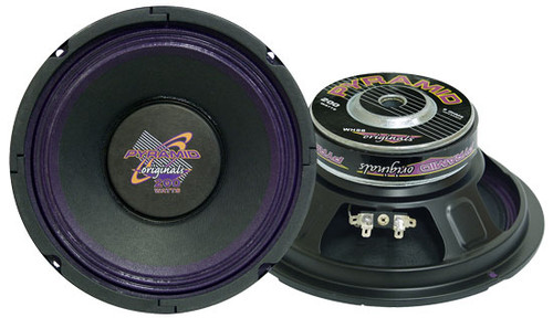 1 x  Pyramid WH88 8'' 250 Watt High Power Paper Cone 8 Ohm Subwoofer Sub