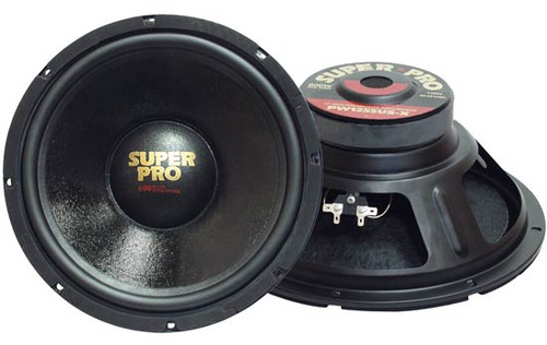 1 x  Pyramid PW1 x 055USX 1 x 0'' 500 Watt Subwoofer Sub Car Audio
