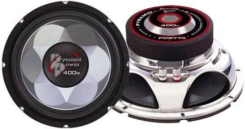1 x  Pyramid PW1 x 277X 1 x 2'' 700 Watt Subwoofer Sub Car Audio