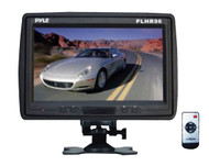 Pyle PLHR96 9'' TFT LCD Headrest Monitor w/ Stand Black