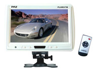 Pyle PLHR97W 9'' TFT LCD Headrest Monitor w/ Stand White