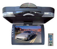 Pyle PLRD143IF 14.1'' Roof Mount TFT-LCD Monitor w/ Built in DVD Player