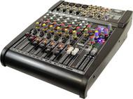 PylePro PEXM1204 Studio 24 Bit 12 Ch Stereo Mixer w/BuiltIn FX Processor/Digital Effects