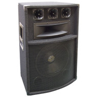 Pyle PADH1289 600 Watt 12'' Five-Way PA Speaker Cabinet DJ Pro
