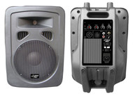 1 x  Pyle PPHP1 x 098A 600Watt 1 x 0'' 2-Way Plastic Molded Powered PA speaker System