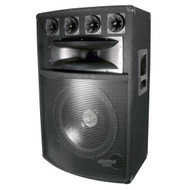 Pyle PADH1589 800 Watt 15'' Six-Way Speaker Cabinet DJ Pro