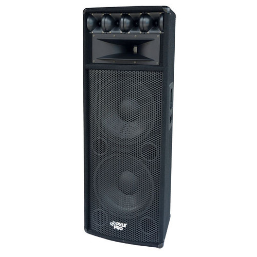 Pyle PADH212  1600W Heavy Duty 7 Way Pa Loud-speaker Cabinet DJ Pro