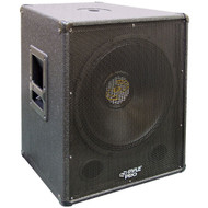 Pyle PASW18 1000 Watt 18'' Stage PA Subwoofer Cabinet DJ Pro