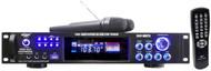 PylePro PWMA1003T 1000Watts Hybrid Pre-Amplifier W/AM-FM Tuner/USB/Dual Wireless Mic