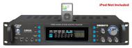 PylePro P3002AI 3000 Watts Hybrid Receiver & Pre-Amplifier W/AM-FM iPod Docking Station