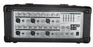 Pyle PMX601 150 Watt 6 Channel Powered PA Mixer/Amplifier DJ Pro