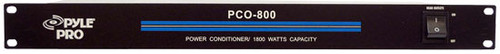 Pyle PCO800 19'' Rack Mount 1800 Watt Power Conditioner w/ 8 Outlets