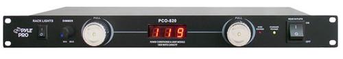 PylePro PCO820 19'' Rack Mount 8 Outlets 1800 Watt Power Conditioner W/Voltage Meter