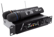 Pyle PDWM2600 Dual UHF Wireless Microphone System