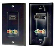 Pyle PHDMRBC2 HDMI/Stereo Dual RCA Audio Combo Wall Plate