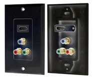 Pyle PHDMRBC3 HDMI/ 3 RGB/RCA Component Combo Wall Plate