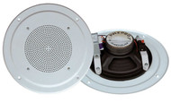 Pyle PDICS64 6-1/2'' Full Range In-Ceiling Speaker System W/Transformer