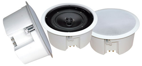 1 x  PDPC6T In-Ceiling Enclosed Speaker System w/Rotary Tapping 70V Transformer