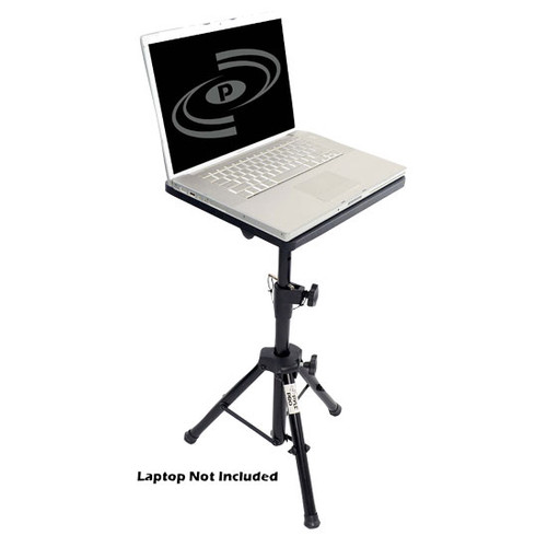 Pyle PLPTS4 Pro DJ Laptop TriPod Adjustable Stand For Notebook Computer