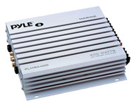 Pyle PLMRA400 4 Channel 400 Watt Waterproof Marine Amplifier Car Audio Amp