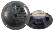 Pair Pyle PLMR51B 100 Watts 5.25'' 2 Way Black Marine Speakers Kit