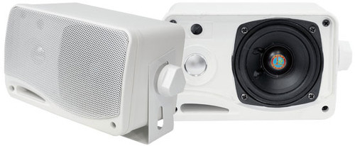 Pyle Hydra PLMR24 Mini Box Speaker - White