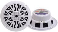 Pair Pyle PLMR52 150 Watts 5.25'' 2 Way White Marine Speakers Kit