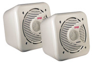 Pair Pyle PLMR53 5.25'' 150 Watt Two-Way Shielded Marine WaterProof Speakers