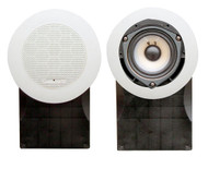 Pair Pyle PLMR66W 5''  High Quality White 500 Watts  Marine Speakers