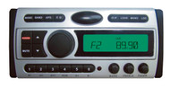 Pyle PLCDMR97 1.5-Din AM FM Receiver / CD/CDR/MP3/AM-FM Marine Grade Player