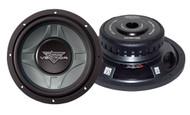 1 x  Lanzar VCW1 x 0D Vector 1 x 0'' Dual 4 Ohm Shallow Subwoofer Sub Car Audio