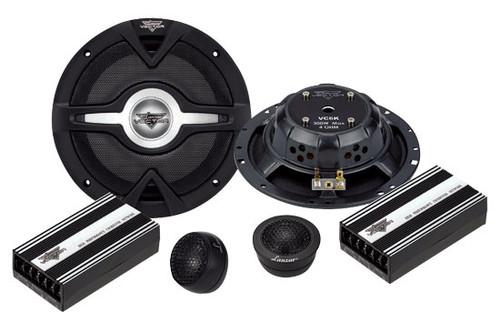 Lanzar VC6K Vector 6.5'' 2-Way Slim Component Speaker System