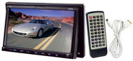 Pyle PLDN73I 7'' 2 DIN TFT Touch Screen DVD CD MP3 USB SD Slot/AM FM/iPod Input