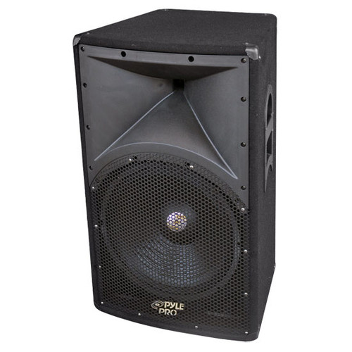 Pyle PADH121 600 Watt 12''  2 - Way  PA Speaker Cabinet DJ Pro