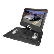 PyleHome PDH14 14'' Portable TFT LCD Monitor w/ Built-In DVD Player MP3 MP4 USB SD