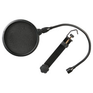 Pyle PEPF20 6-Inch Clamp On Microphone Pop Filter