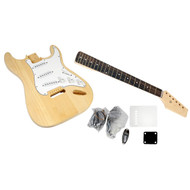 Pyle PGEKT18 Unfinished Start Electric Guitar Kit - You Build The Guitar
