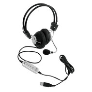Pyle PHPMCU10 Multimedia/Gaming USB Headset With Noise-Canceling Microphone