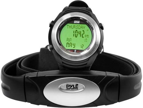 Pyle PHRM20 Marathon Heart Rate Watch W/USB and Walking/Running Sensor