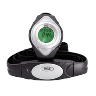 Pyle PHRM38SL Silver Heart Rate Monitor Watch Calorie Counter & Target Zones
