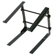 Pyle PLPTS30 Laptop Computer Stand For DJ With Flat Bottom Legs DJ Pro Audio
